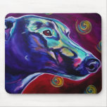 Greyhound #1 mouse pads