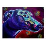 Greyhound #1 postcard
