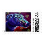 Greyhound #1 stamps