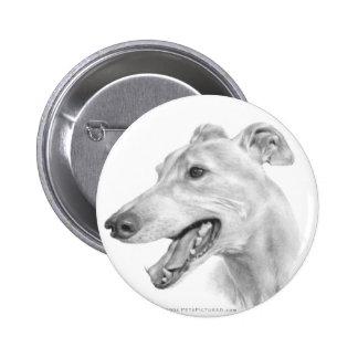 Greyhound 2 Inch Round Button