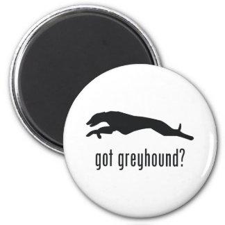 Greyhound 2 Inch Round Magnet