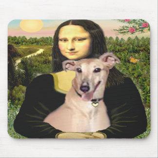 Greyhound 2 - Mona Lisa Mouse Mat