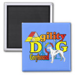 Greyhound_Agility Magnets