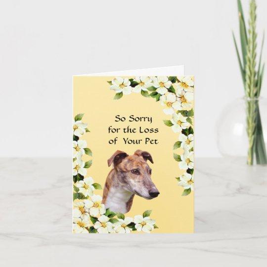 Vintage Altered Art Greyhound Sympathy Cards with Envelopes set of 4