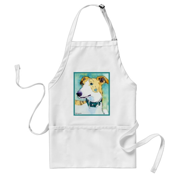 GREYHOUND APPAREL & GIFTS ADULT APRON