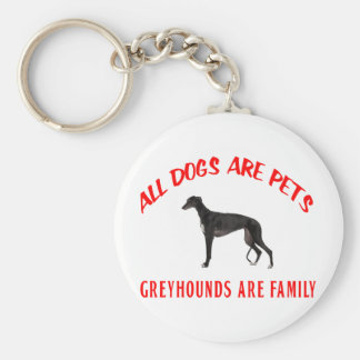 GREYHOUND ARE FAMILY KEYCHAIN