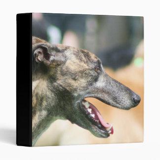 Greyhound Avery binder