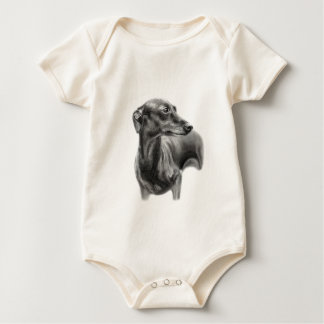 Greyhound Baby Bodysuit