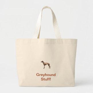 Greyhound Canvas Bag