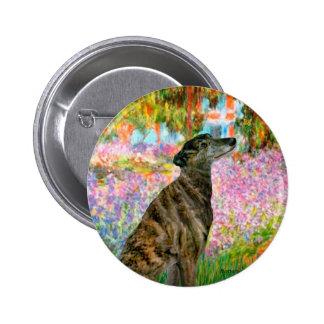 Greyhound (br2) - Garden Button
