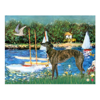 Greyhound (br2) - Sailboats Postcard