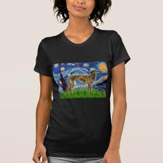 Greyhound (br2) - Starry Night T-Shirt