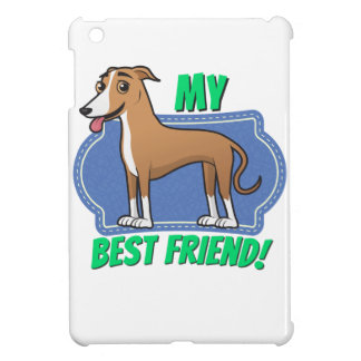 Greyhound (brown) is my best friend cover for the iPad mini