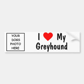 Greyhound Bumper Sticker