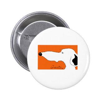 Greyhound Pinback Buttons