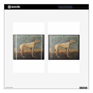 Greyhound by Giovanni Domenico Tiepolo Kindle Fire Decals