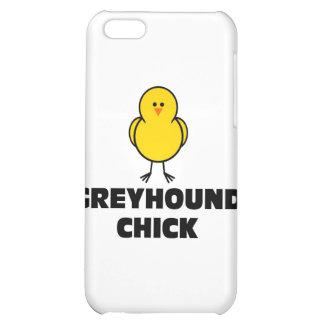 Greyhound Chick iPhone 5C Cases