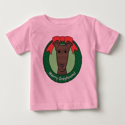 Greyhound Christmas Tshirts