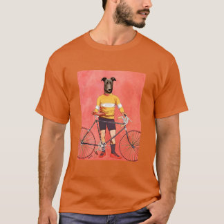 Greyhound Cyclist 2 T-Shirt