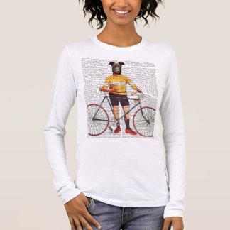 Greyhound Cyclist Long Sleeve T-Shirt