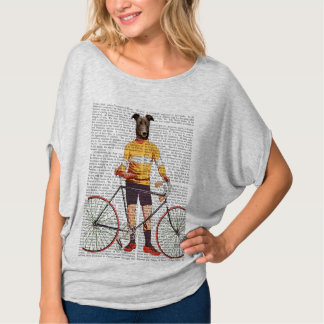 Greyhound Cyclist T-Shirt