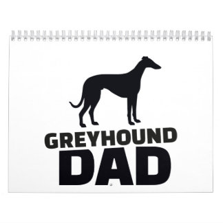 Greyhound Dad Calendar