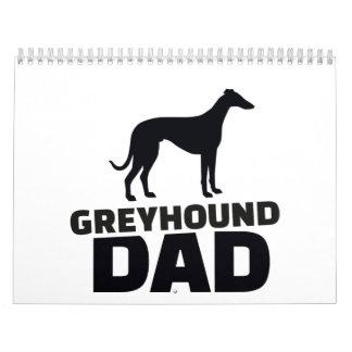 Greyhound Dad Calendar