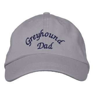 Greyhound Dad Cute Embroidered Baseball Cap