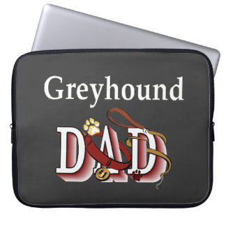 Greyhound Dad Laptop Sleeve