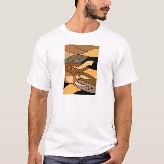 Greyhound Dog Abstract Art Design T-Shirt
