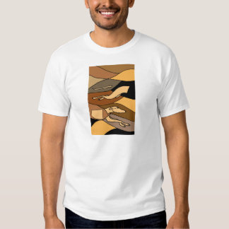 Greyhound Dog Abstract Art Design Tshirt
