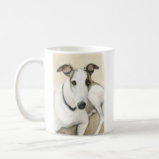 """Greyhound"" Dog Art Reproduction Mug"