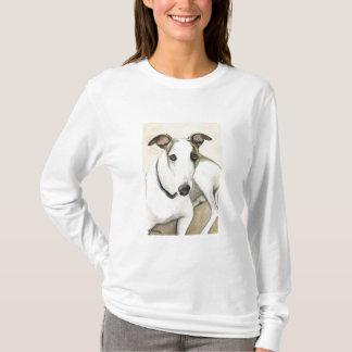 Greyhound Dog Art Shirt