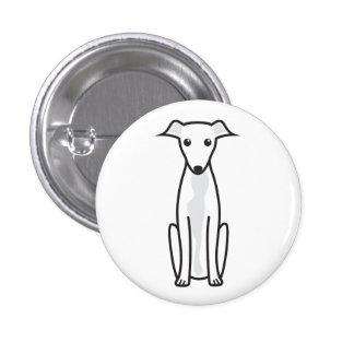 Greyhound Dog Cartoon Pins
