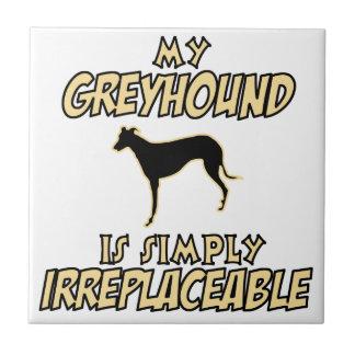 greyhound DOG designs Ceramic Tile