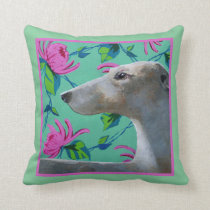 Greyhound Dog Pillow
