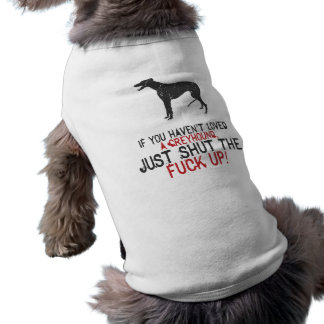 Greyhound Pet Clothing