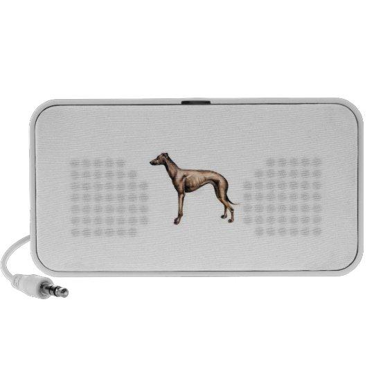 Greyhound Doodle Mini Speaker