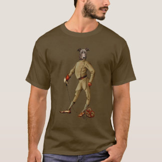 Greyhound Fencer Dark Full 2 T-Shirt