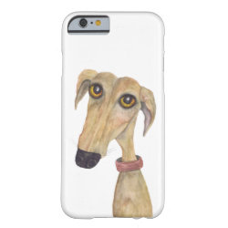 Case-Mate Barely There iPhone 6 Case with Whippet Phone Cases design