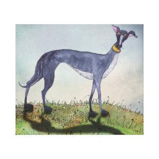 GREYHOUND g919 Canvas Print