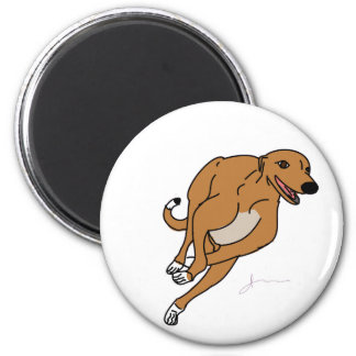 Greyhound Gear Magnet