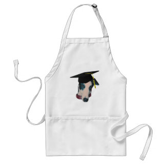 Greyhound In Graduation Cap Funny Apron