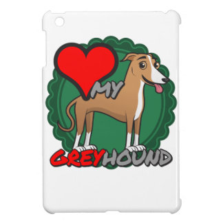 Greyhound in my Heart Cover For The iPad Mini