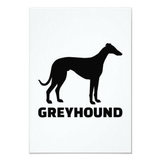 "Greyhound 3.5"" X 5"" Invitation Card"