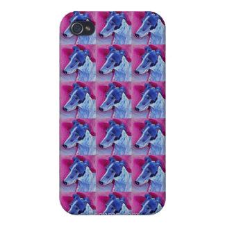 """Greyhound iPhone 4 Case - """"Blue Boy"""""""