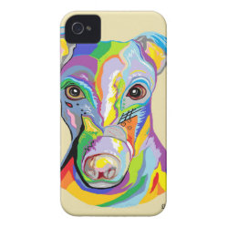 Case-Mate iPhone 4 Barely There Universal Case with Greyhound Phone Cases design