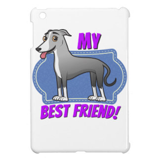 Greyhound is my best friend iPad mini cover