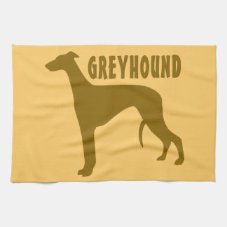 Greyhound Kitchen Towel