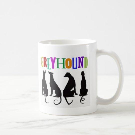 Greyhound Love Coffee Mug